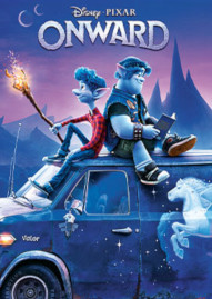 Onward Disney movie cover