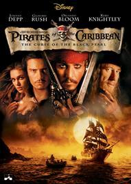 Pirates Of The Caribbean: The Curse Of The Black Pearl Disney movie cover