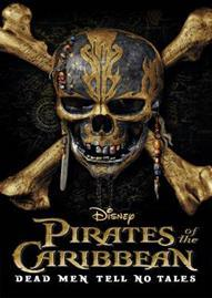 Pirates Of The Caribbean: Dead Men Tell No Tales Disney movie cover