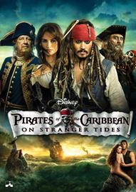 Pirates Of The Caribbean: On Stranger Tides Disney movie cover