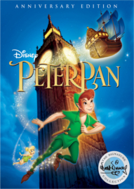 Peter Pan Disney movie cover