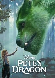 Pete's Dragon (2016) Disney movie cover