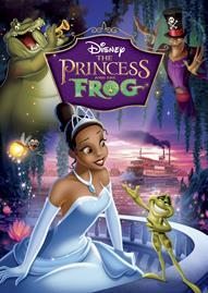 The Princess And The Frog Disney movie cover