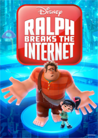 Ralph Breaks The Internet Disney movie cover