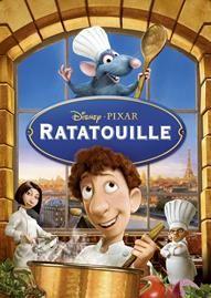 Ratatouille Disney movie cover