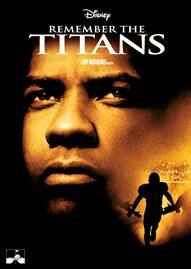 Remember The Titans Disney movie cover