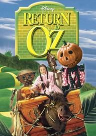Return To Oz Disney movie cover