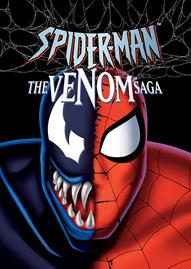 Marvel Spider-Man: The Venom Saga Disney movie cover