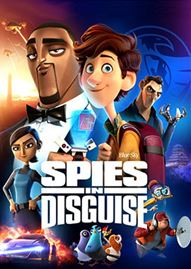 Spies In Disguise Disney movie cover