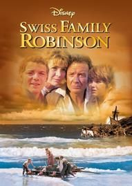 Swiss Family Robinson Disney movie cover