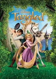 Tangled (2010) Disney movie cover