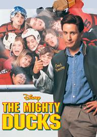 The Mighty Ducks Disney movie cover