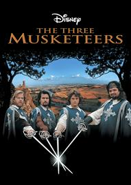 The Three Musketeers Disney movie cover