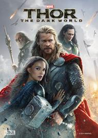 Thor: The Dark World Disney movie cover