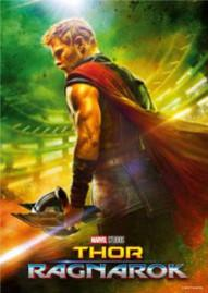 Thor: Ragnarok Disney movie cover