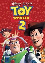 Toy Story 2 Disney movie cover