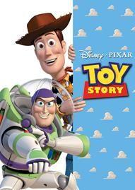 Toy Story Disney movie cover