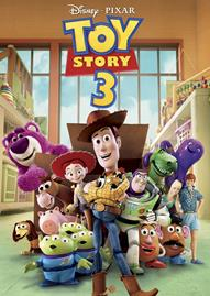 Toy Story 3 Disney movie cover