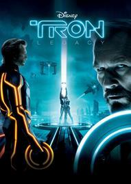 Tron: Legacy Disney movie cover