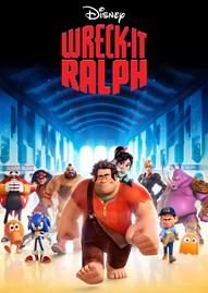 Wreck-It Ralph Disney movie cover