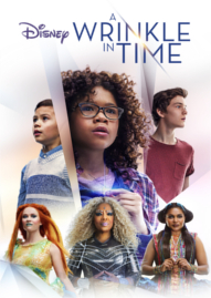 A Wrinkle In Time Disney movie cover