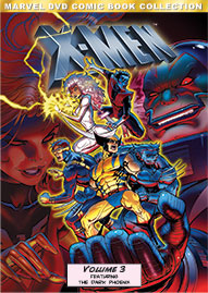 Marvel X-Men Volume 3 Disney movie cover