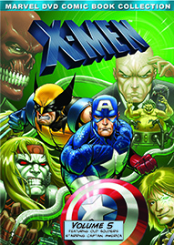 Marvel X-Men Volume 5 Disney movie cover