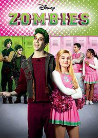 Zombies Disney movie cover