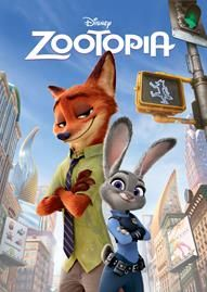 Zootopia Disney movie cover