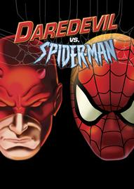 Marvel Daredevil Vs. Spider-Man Disney movie cover