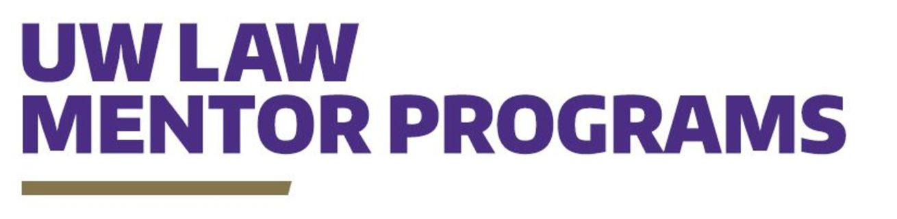 UW Law School Mentor Programs logo