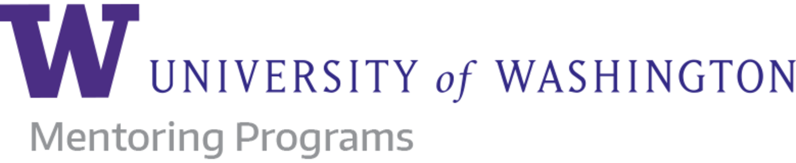 University of Washington Mentoring logo
