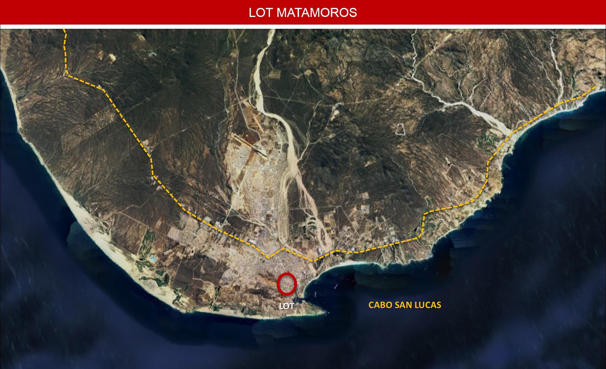 Lot Matamoros, Cabo San Lucas