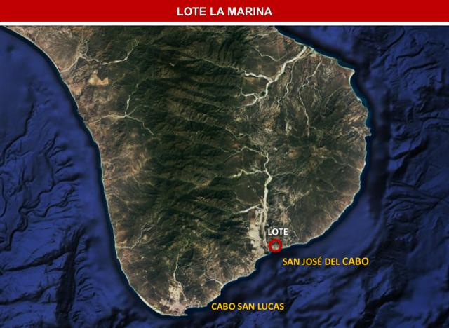 Lot Marina PLC 05, San Jose del Cabo