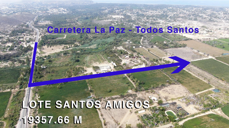 km 109 carretera a Todos Santo, La Paz