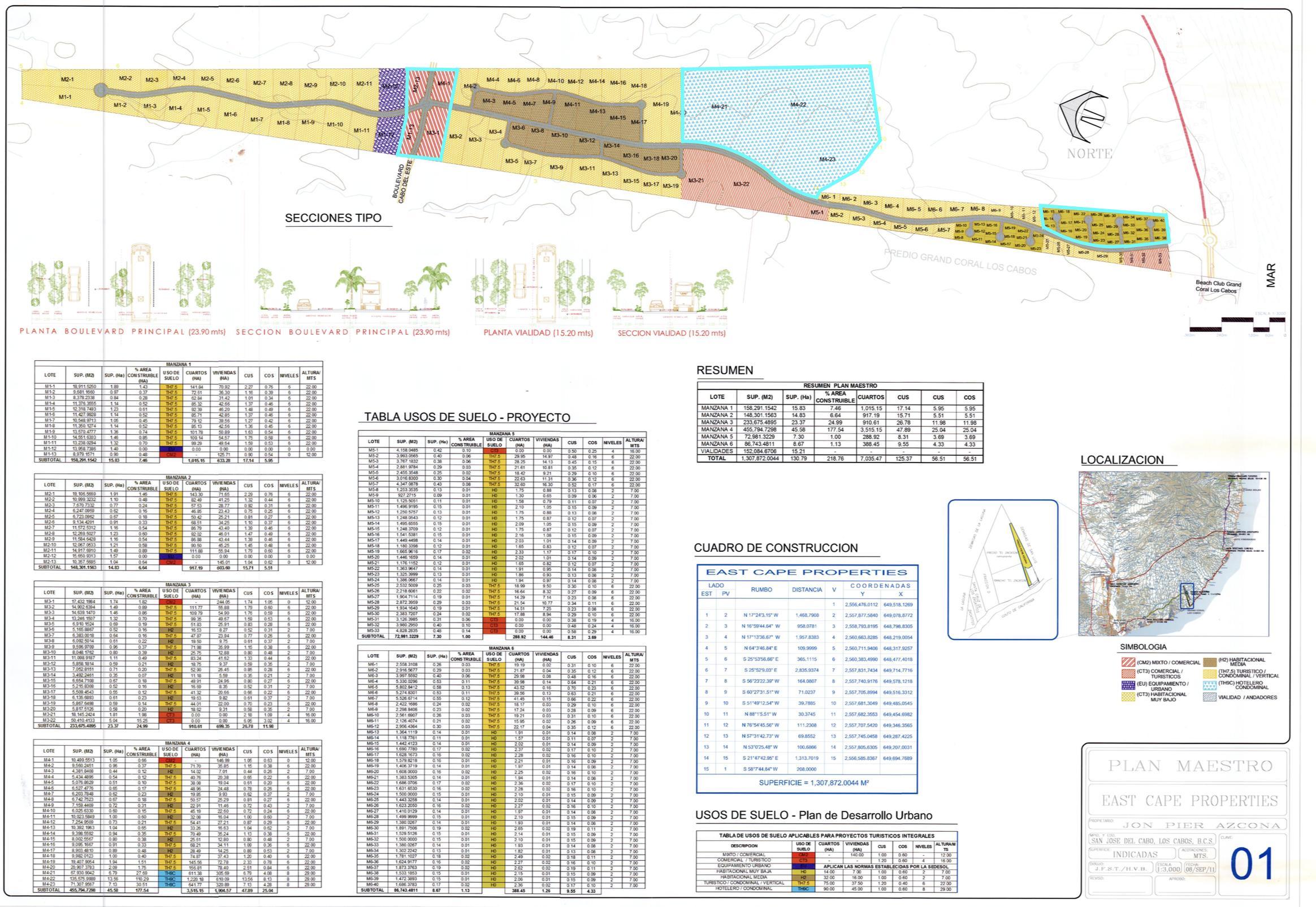 East Cape Developer Parcel, East Cape