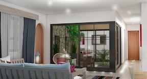 3 bedroom condo Via de Jacarandas, Pacific