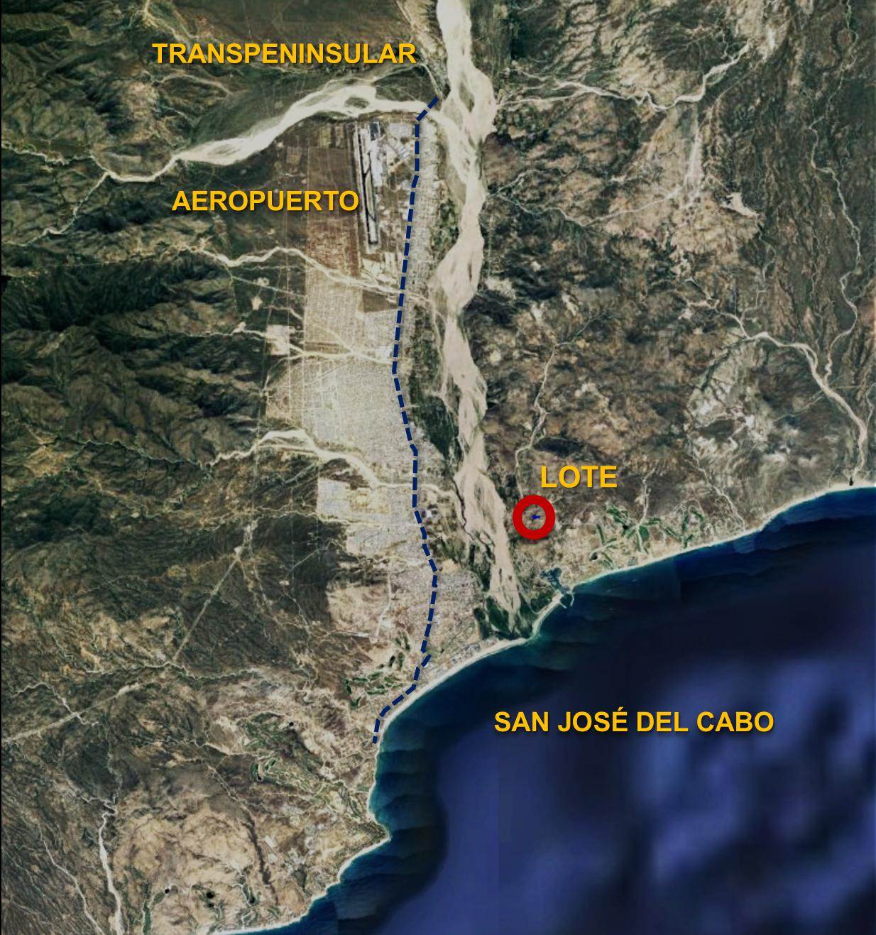Lot 25 Animas, San Jose del Cabo