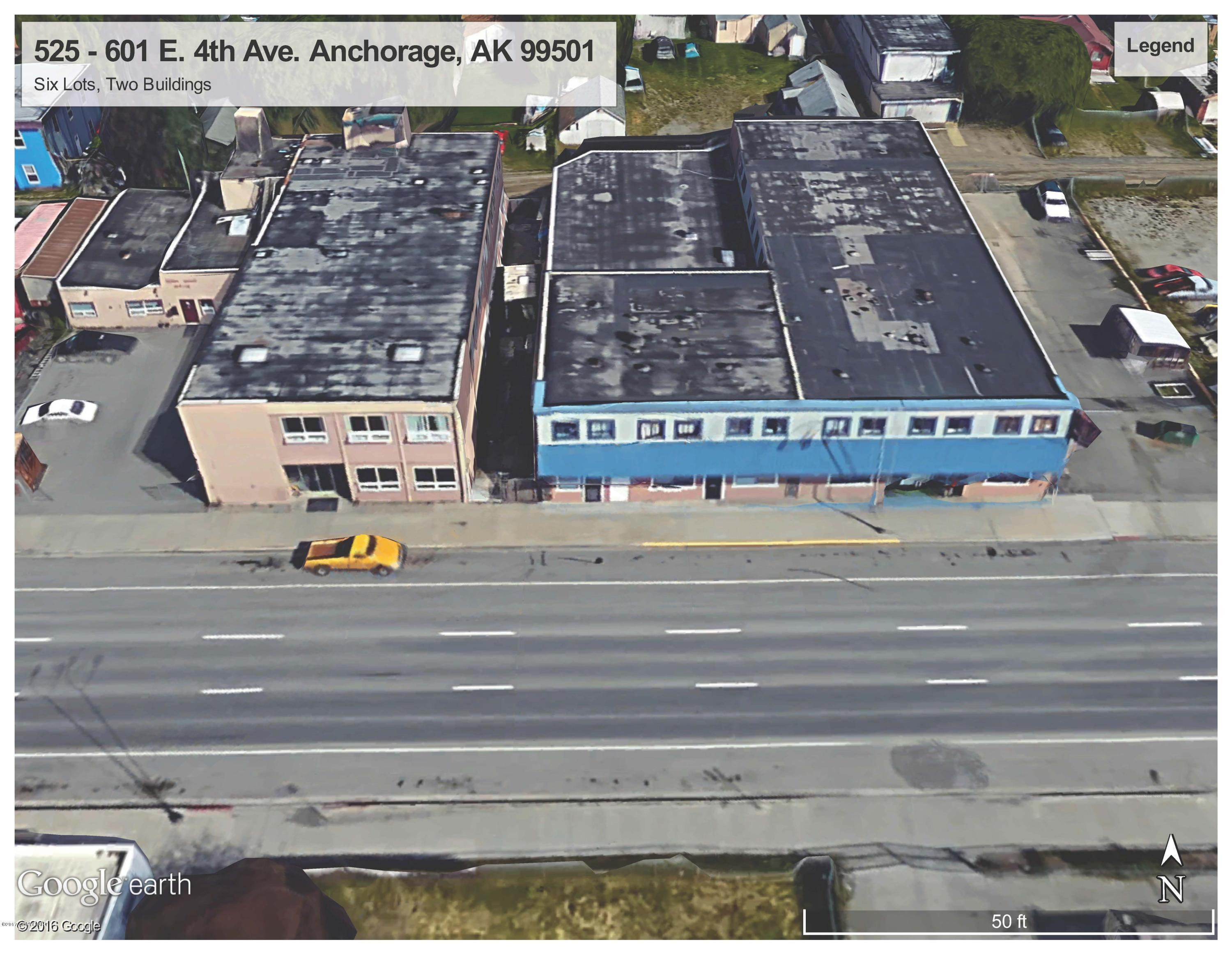 525 E 4th through 601 Avenue, Anchorage, AK 99501