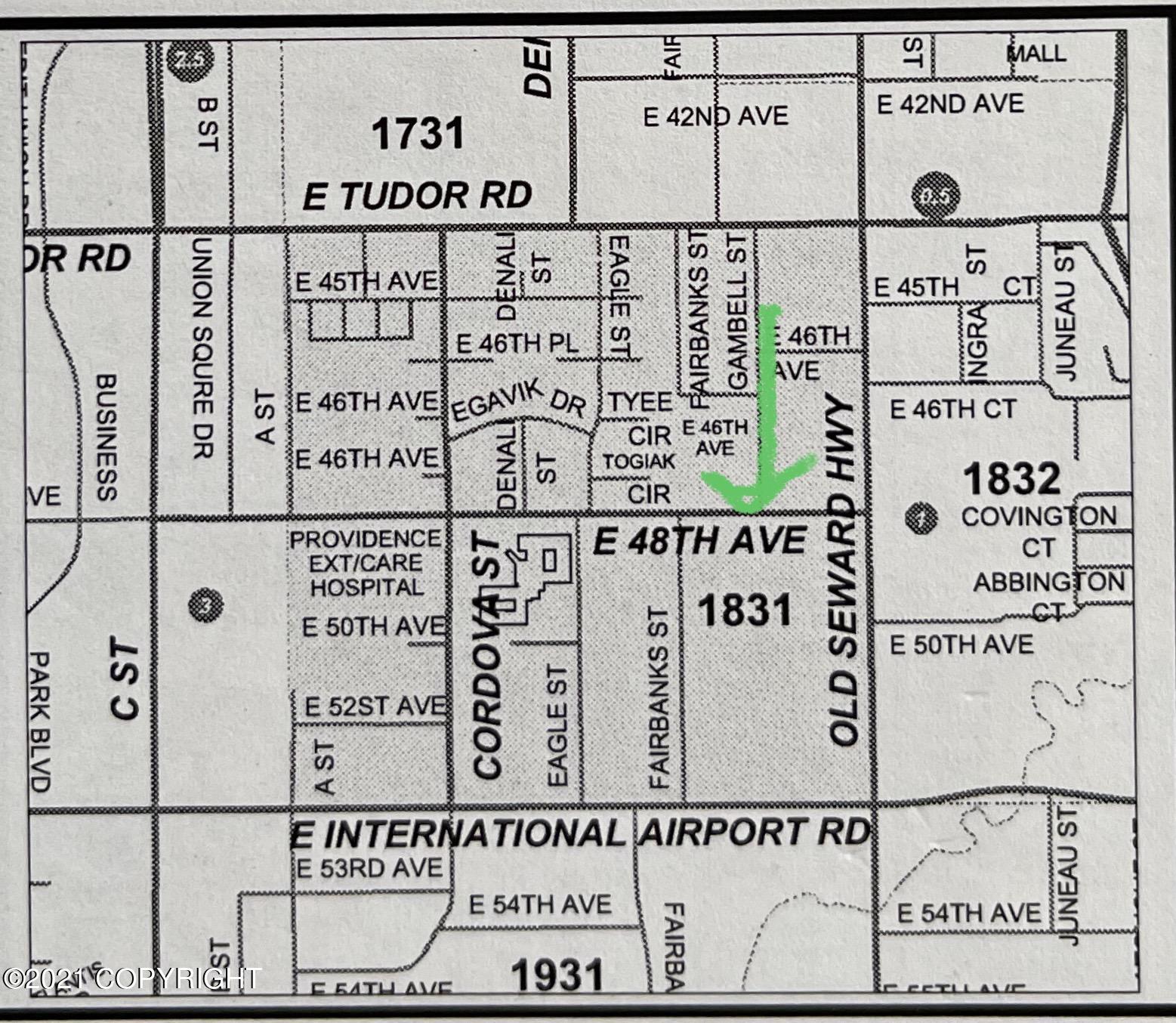 536 E 48th Avenue, Anchorage, AK 99503