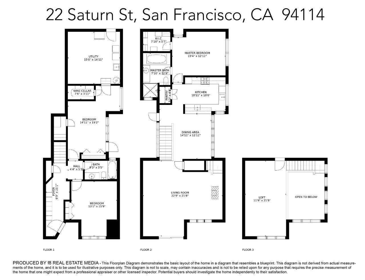 22 Saturn Street, San Francisco, CA, 94114
