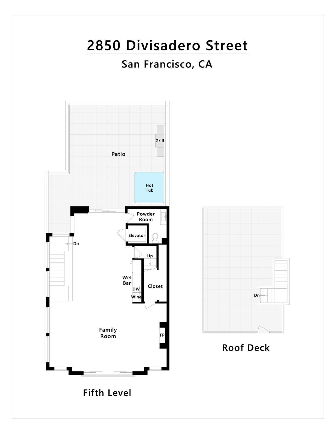 2850 Divisadero Street, San Francisco, CA, 94123