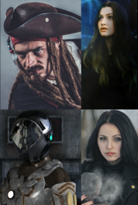Book cover image for New Adventurers: Enter The Pirate & Crew!