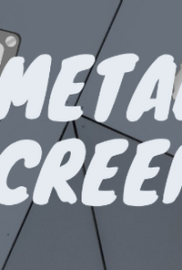 Book cover image for Metal Screens