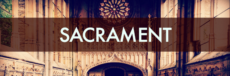 Cover image for post sacrament, by rh
