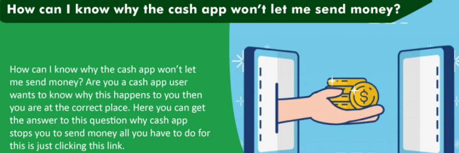 Cover image for post How can I know why the cash app won't let me send money?, by alexypeter70