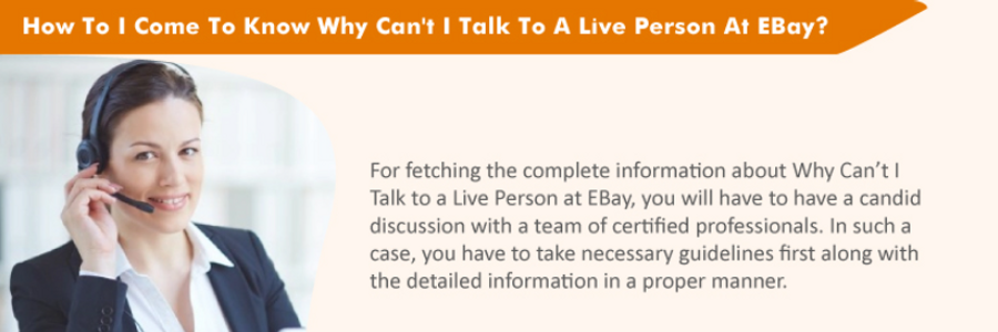 Cover image for post How To I Come To Know Why Can't I Talk To A Live Person At EBay?, by alexypeter70
