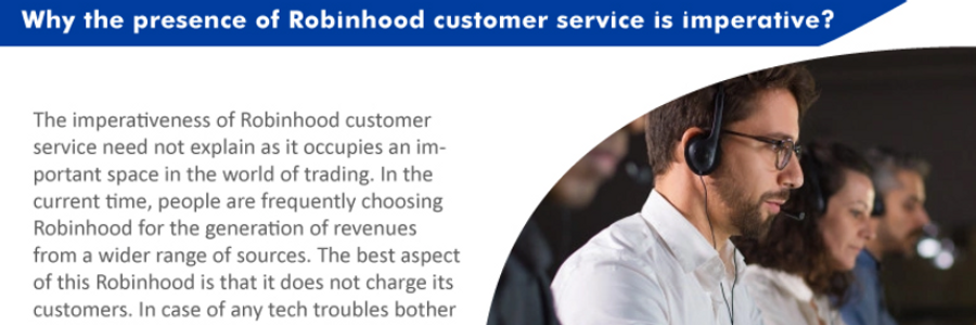 Cover image for post Why the presence of Robinhood customer service is imperative?, by alexypeter70
