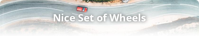 Auto Loans - Nice set of Wheels