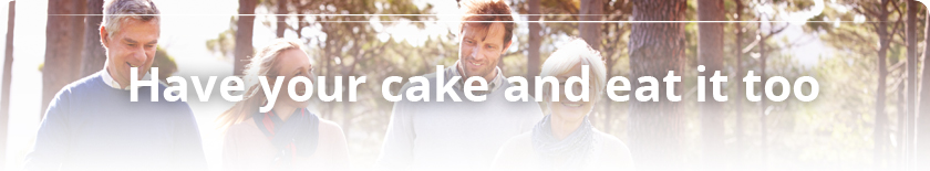 Membership Perks - Have your cake an eat it too.
